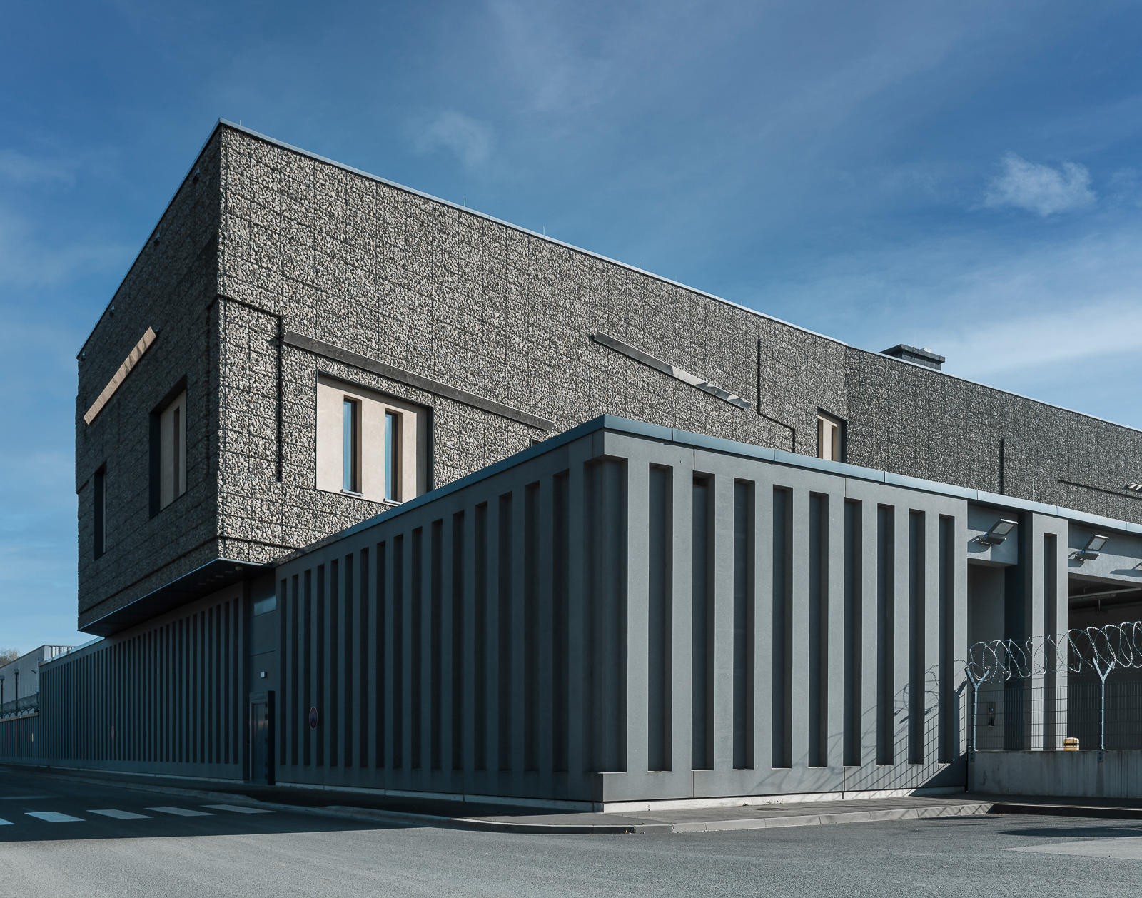 Luxembourg High Security Hub - Exterior building